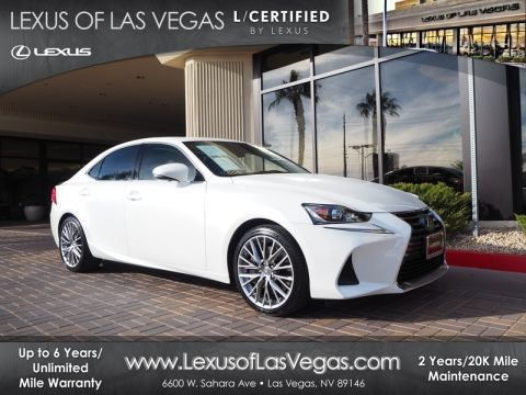 L/Certified 2017 Lexus IS 200T JTHBA1D20H5043127