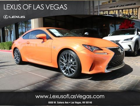 Pre-Owned 2015 Lexus RC350 F SPORT JTHHE5BC6F5000135